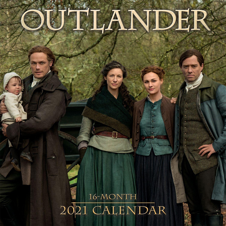 Outlander Wall Calendar 2021 – The Scottish Banner